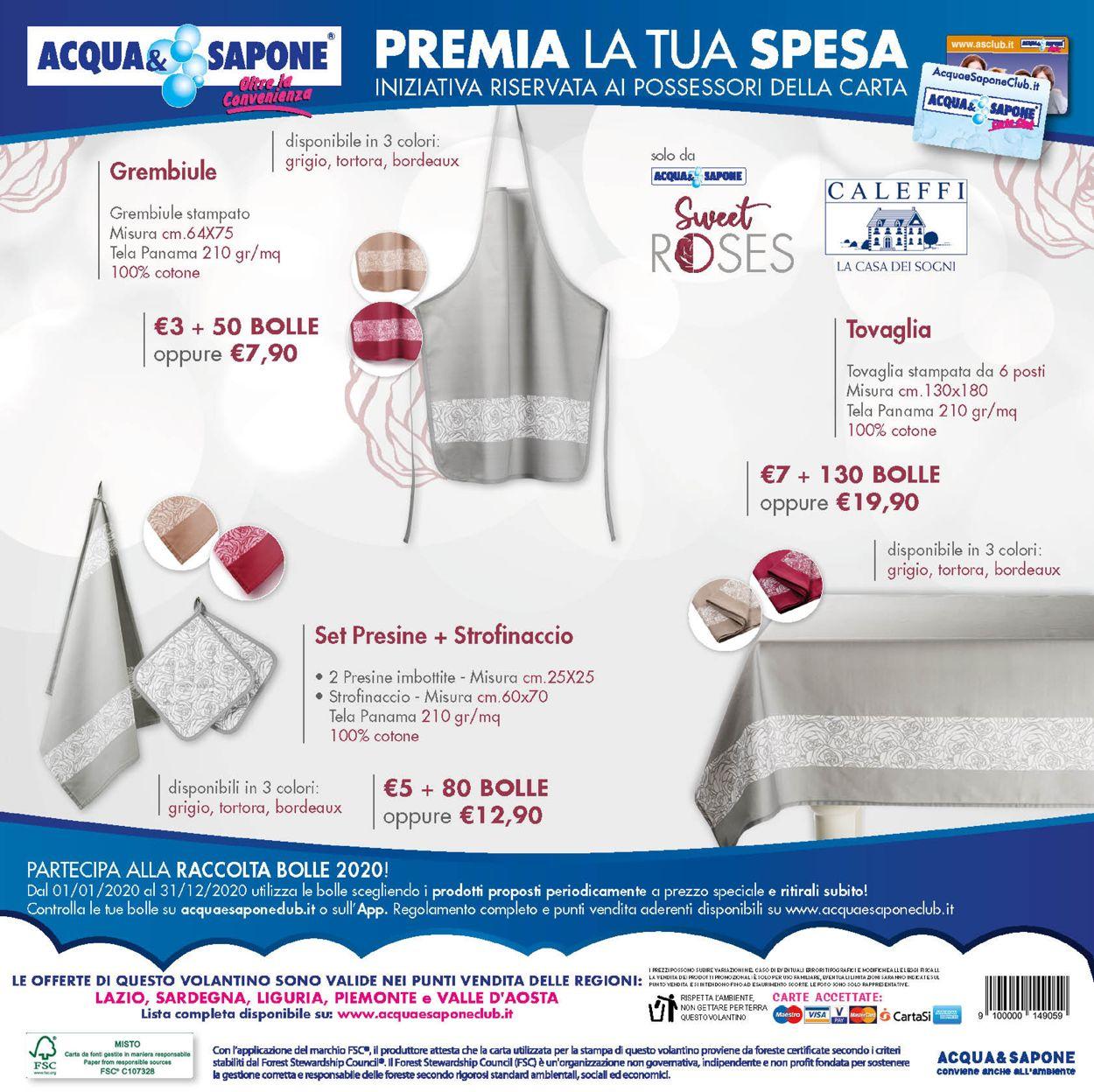Volantino Acqua & Sapone - Offerte 14/07-02/08/2020 (Pagina 4)