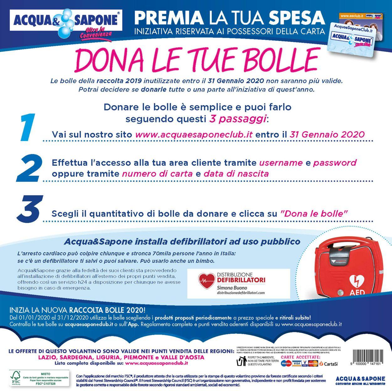 Volantino Acqua & Sapone - Offerte 14/07-02/08/2020 (Pagina 11)