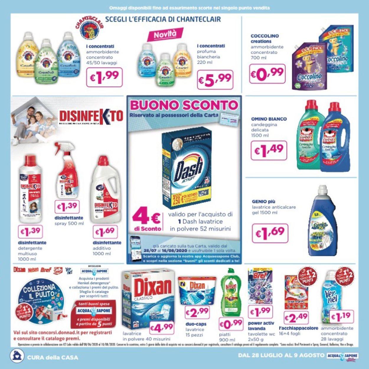 Volantino Acqua & Sapone - Offerte 28/07-09/08/2020 (Pagina 4)