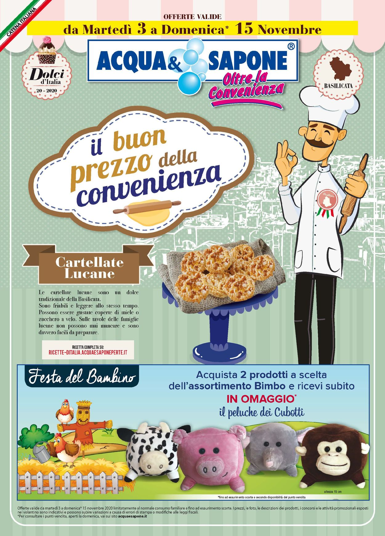 Volantino Acqua & Sapone - Offerte 03/11-15/11/2020