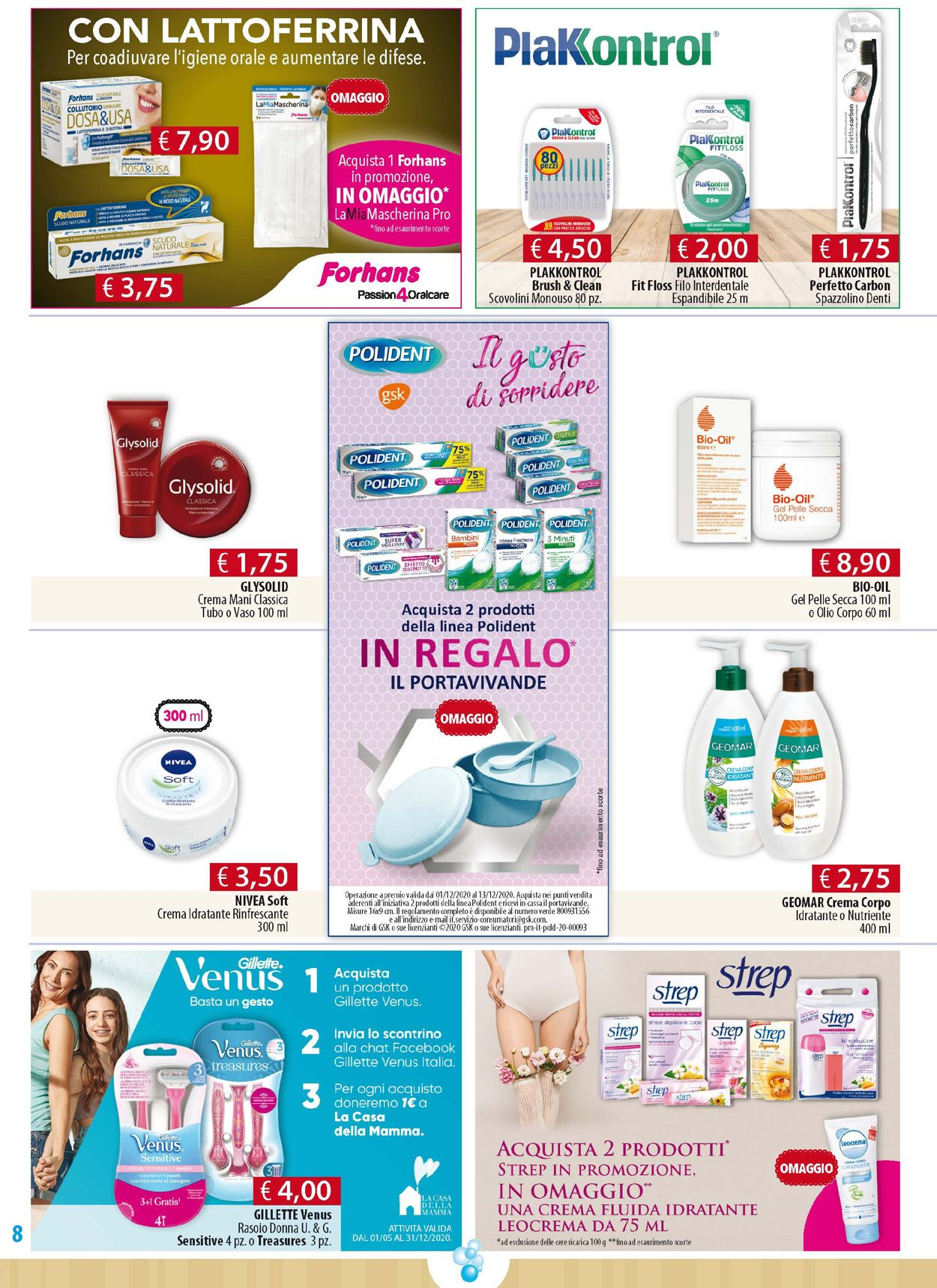 Volantino Acqua & Sapone - Natale 2020 - Offerte 01/12-13/12/2020 (Pagina 8)