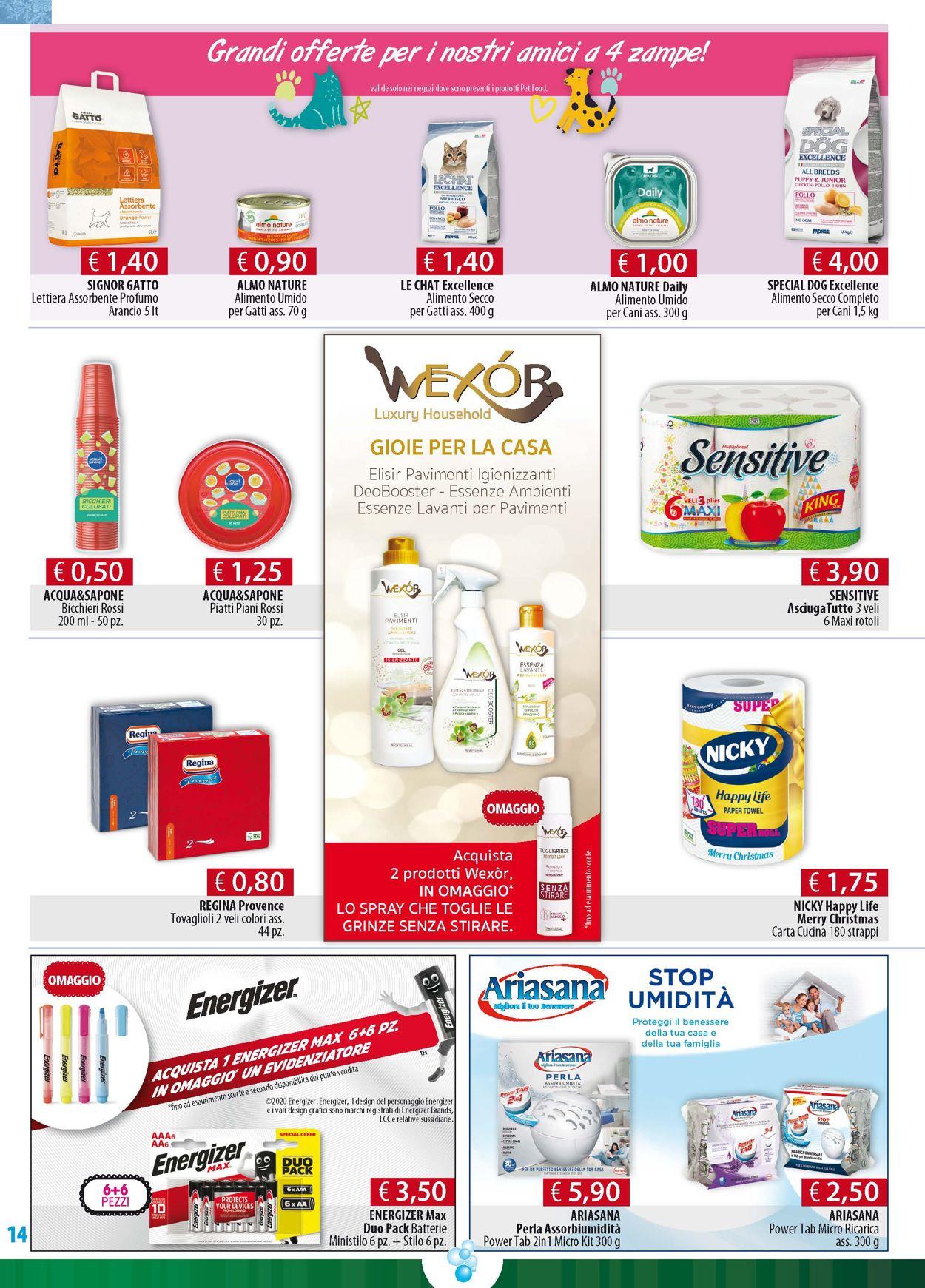 Volantino Acqua & Sapone - Natale 2020 - Offerte 15/12-27/12/2020 (Pagina 14)