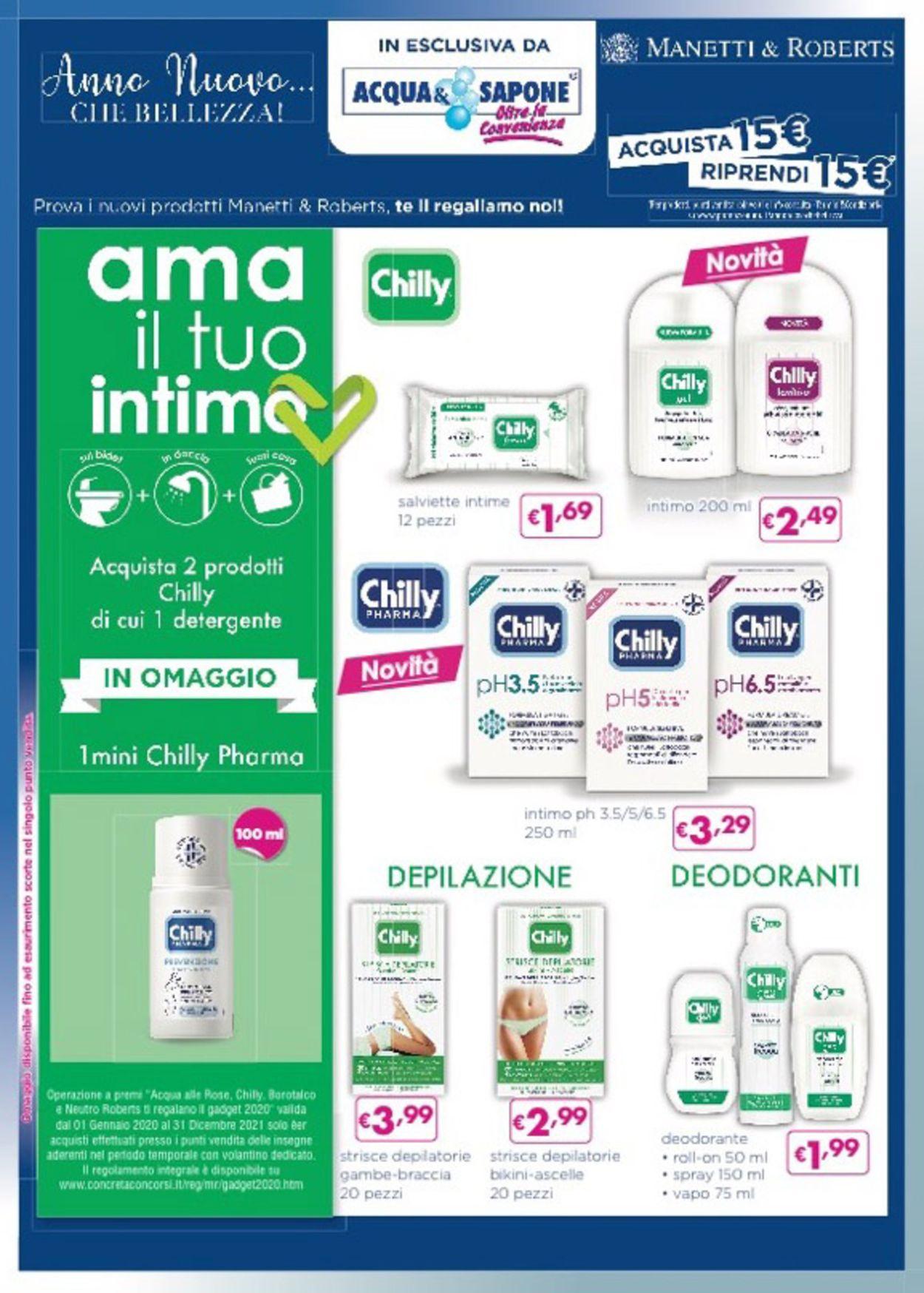 Volantino Acqua & Sapone - Offerte 01/01-31/01/2021 (Pagina 4)