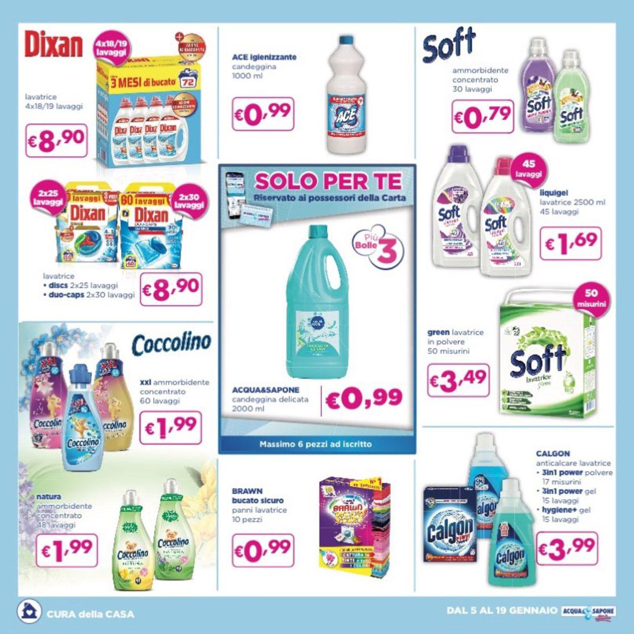 Volantino Acqua & Sapone - Offerte 05/01-19/01/2021 (Pagina 3)