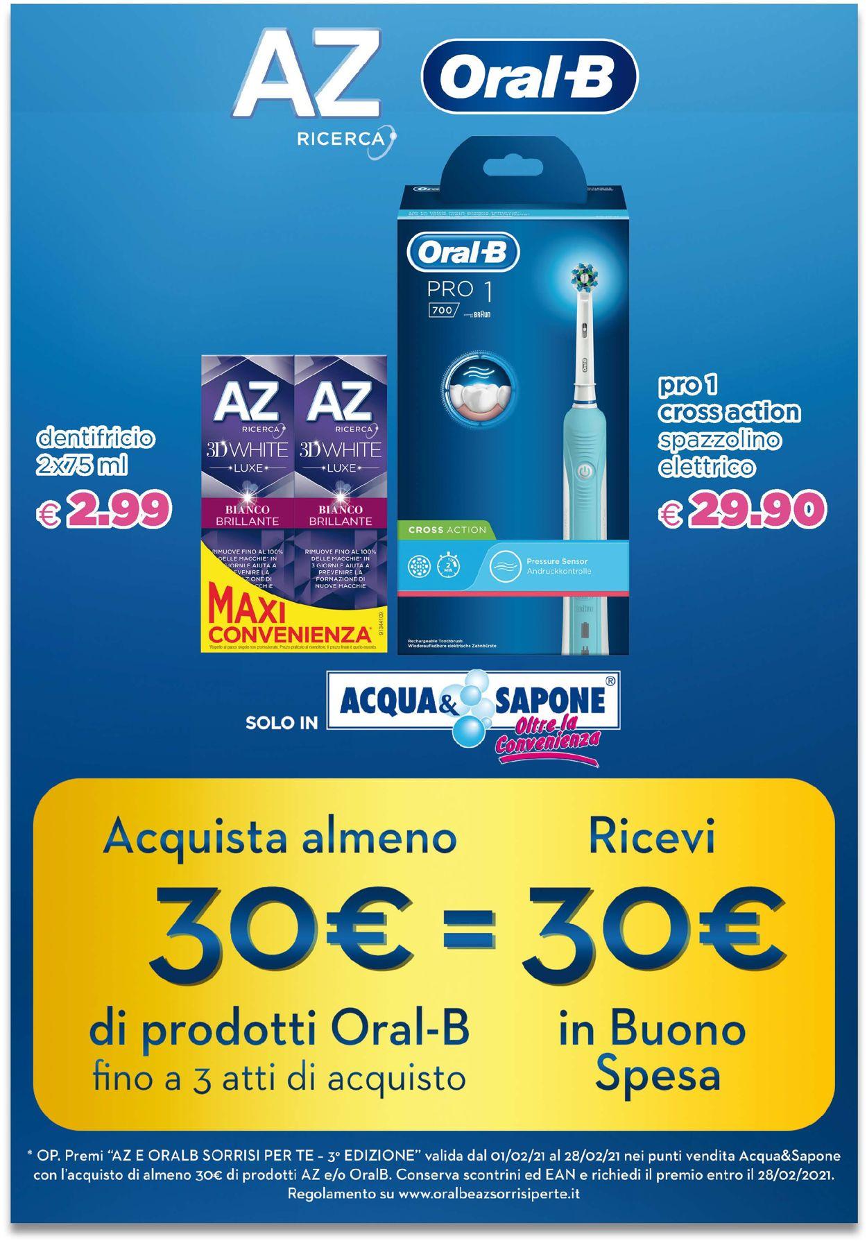 Volantino Acqua & Sapone - Offerte 07/02-28/02/2021 (Pagina 8)