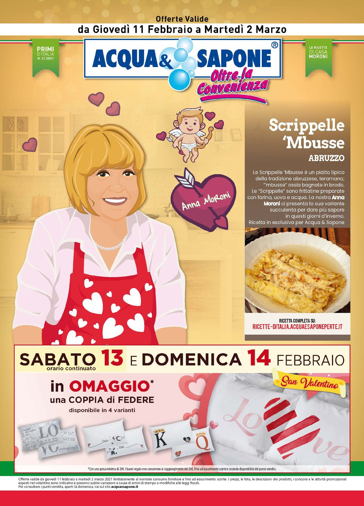 Volantino Acqua & Sapone - Offerte 11/02-02/03/2021