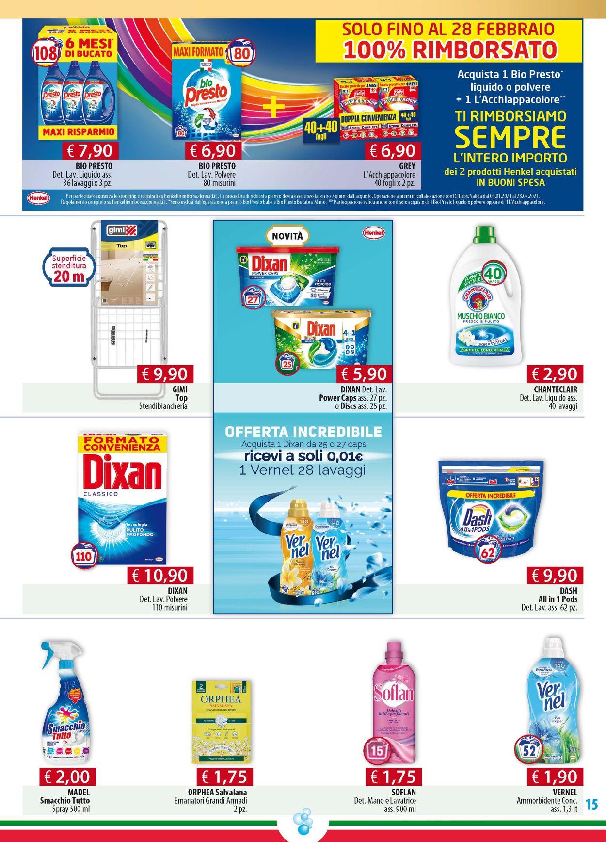 Volantino Acqua & Sapone - Offerte 11/02-02/03/2021 (Pagina 15)