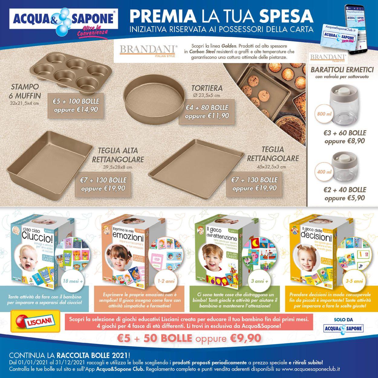 Volantino Acqua & Sapone - Offerte 18/03-30/03/2021