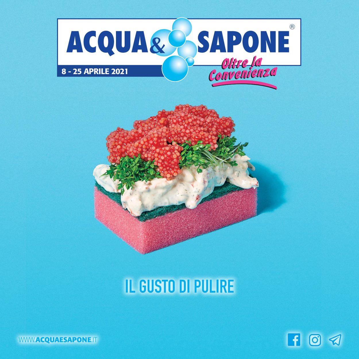 Volantino Acqua & Sapone - Offerte 08/04-25/04/2021