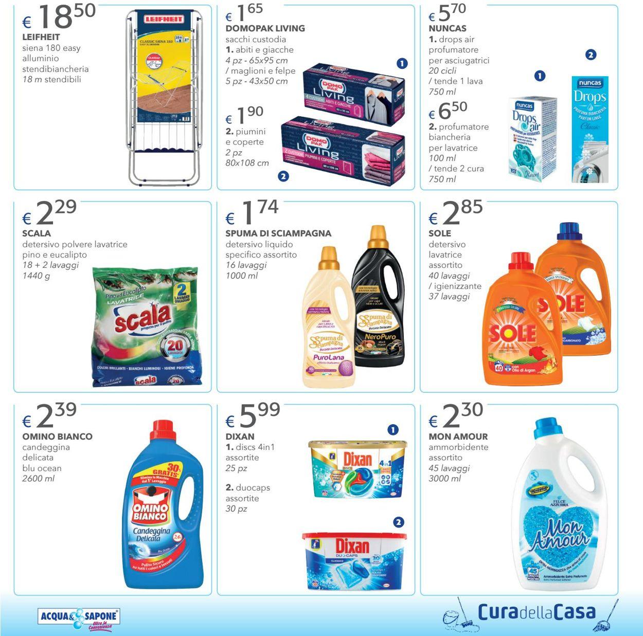 Volantino Acqua & Sapone - Offerte 08/04-25/04/2021 (Pagina 9)