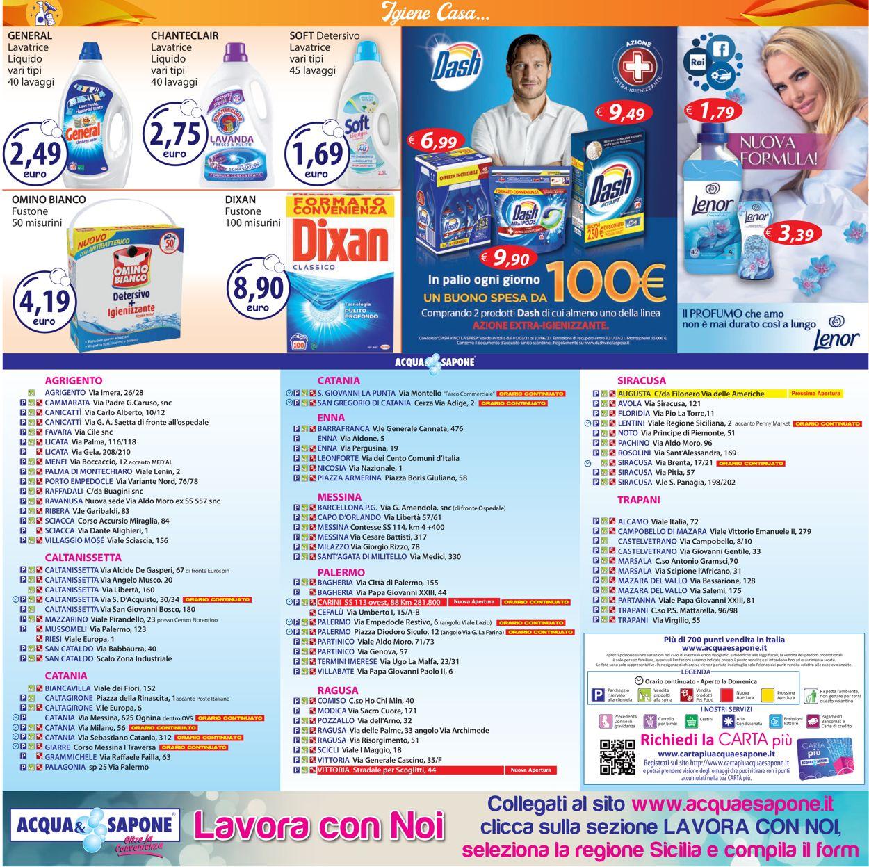 Volantino Acqua & Sapone - Offerte 12/04-25/04/2021 (Pagina 20)