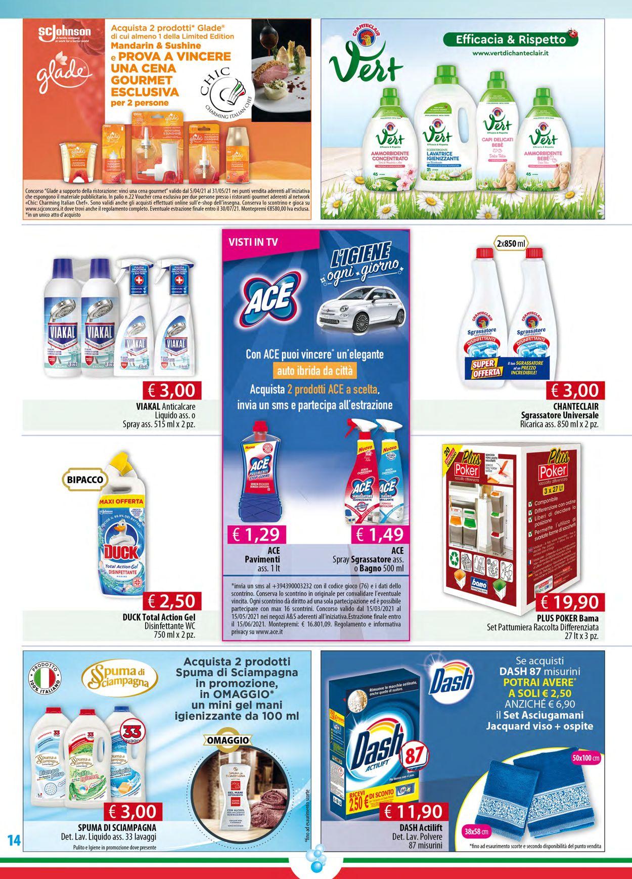 Volantino Acqua & Sapone - Offerte 15/04-04/05/2021 (Pagina 14)