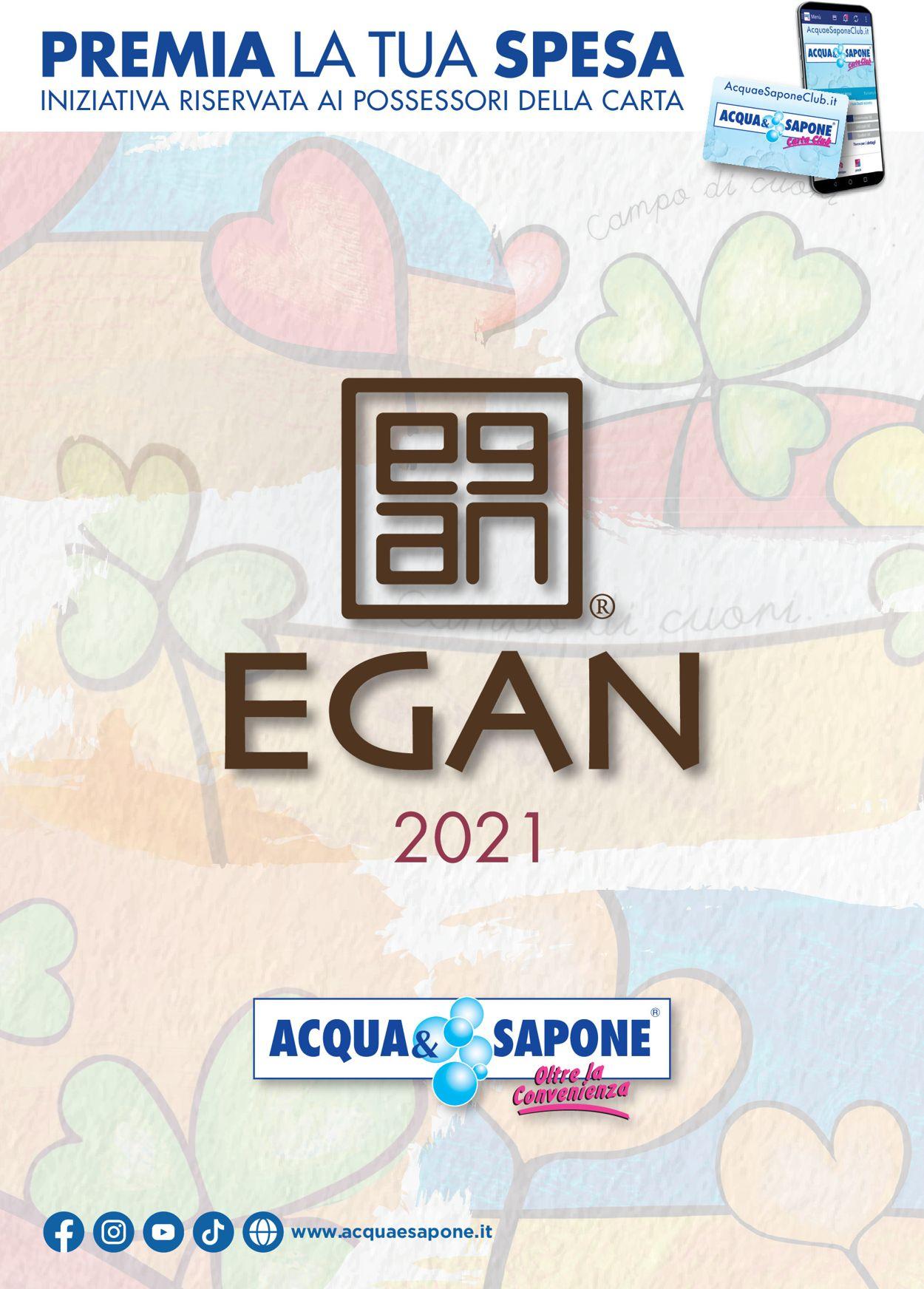 Volantino Acqua & Sapone - Offerte 01/01-31/12/2021