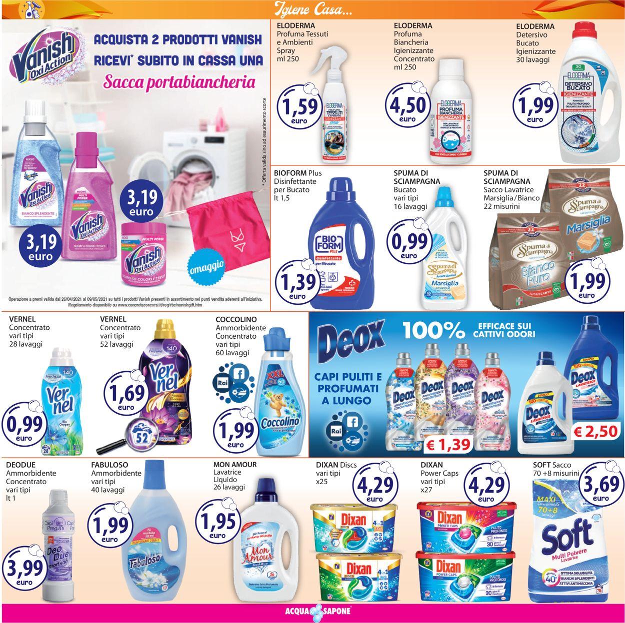 Volantino Acqua & Sapone - Offerte 26/04-09/05/2021 (Pagina 19)