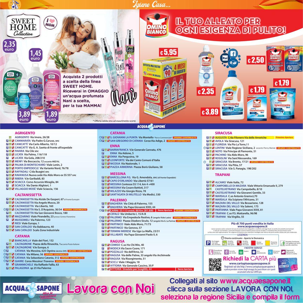 Volantino Acqua & Sapone - Offerte 26/04-09/05/2021 (Pagina 20)