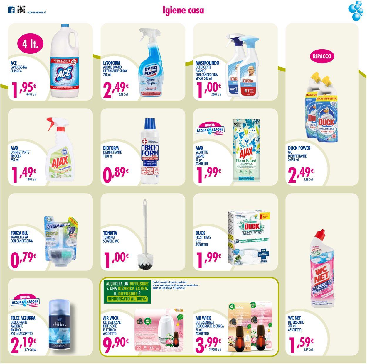 Volantino Acqua & Sapone - Offerte 04/05-23/05/2021 (Pagina 13)