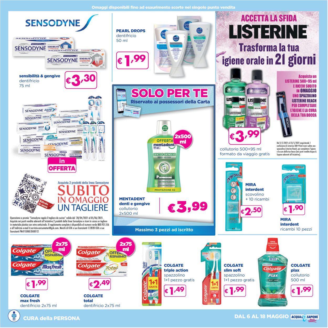 Volantino Acqua & Sapone - Offerte 06/05-18/05/2021 (Pagina 13)