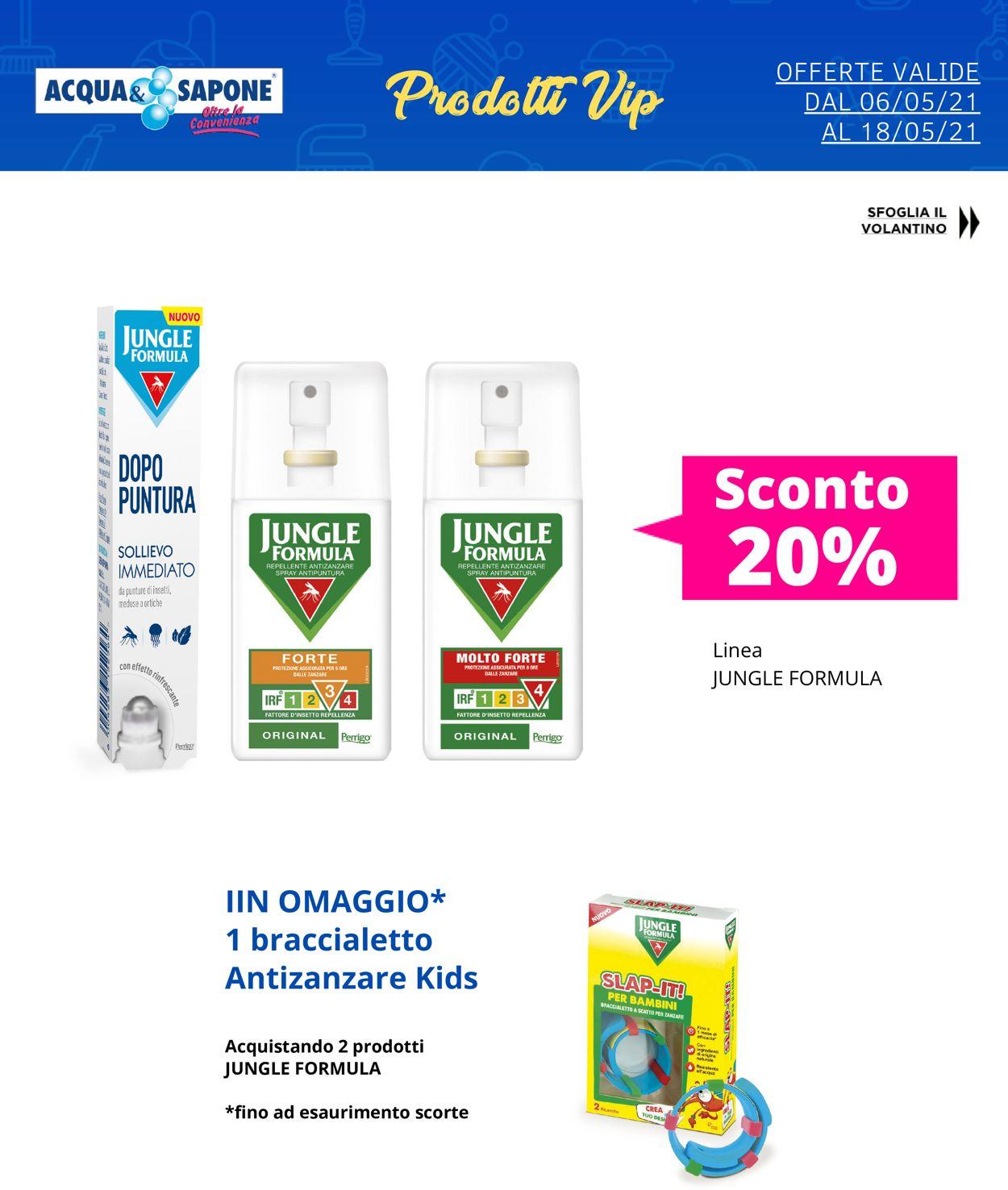 Volantino Acqua & Sapone - Offerte 06/05-18/05/2021 (Pagina 4)