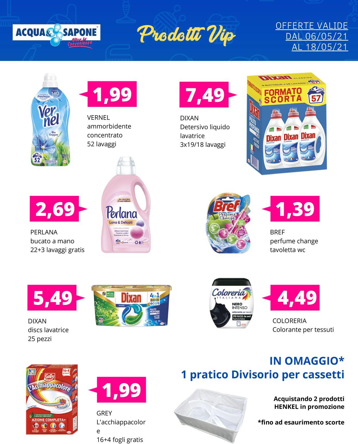 Volantino Acqua & Sapone - Offerte 06/05-18/05/2021 (Pagina 5)