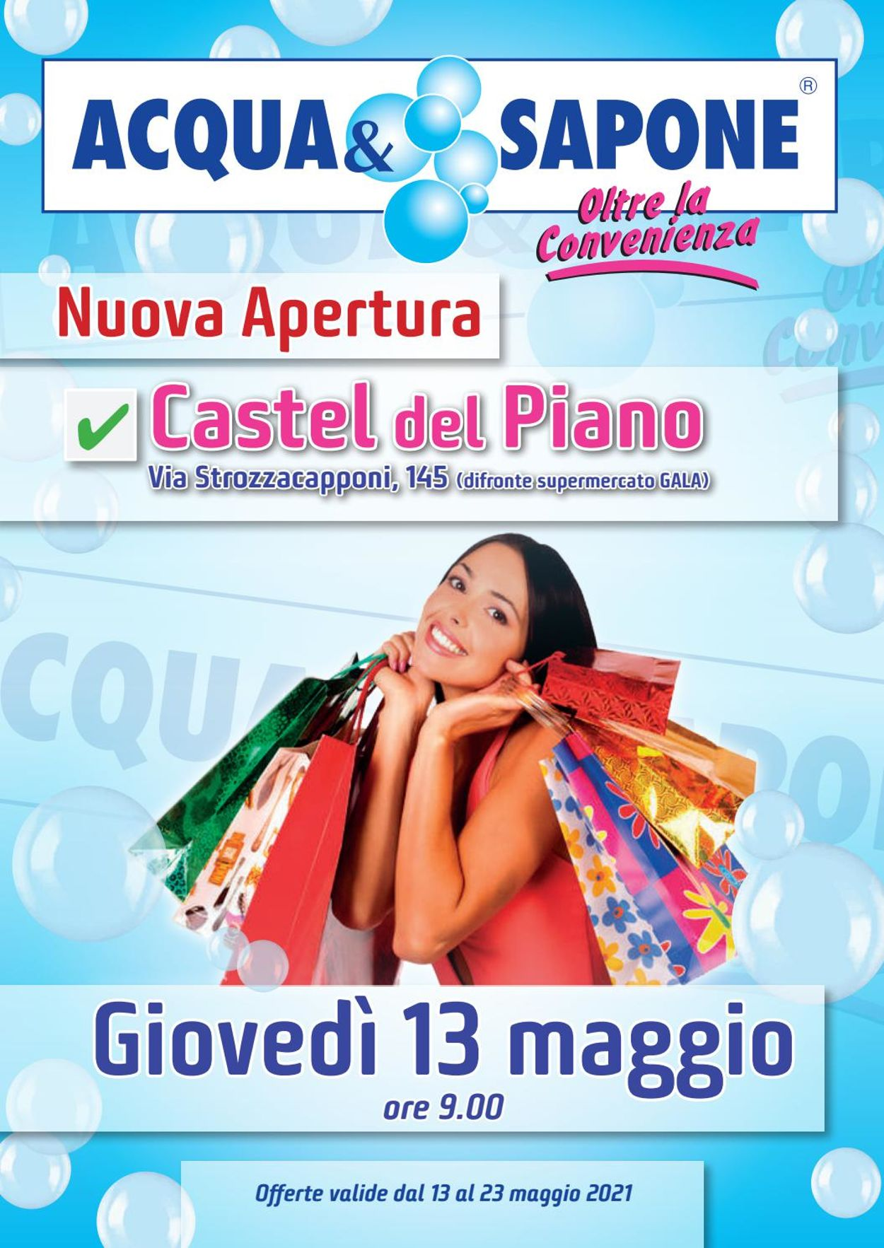 Volantino Acqua & Sapone - Offerte 13/05-23/05/2021