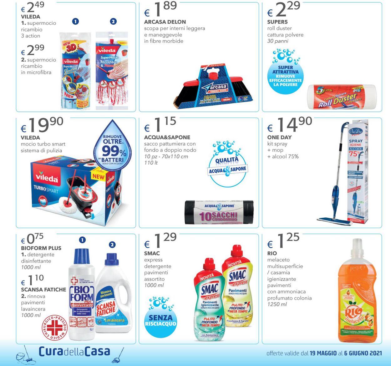 Volantino Acqua & Sapone - Offerte 19/05-06/06/2021 (Pagina 4)
