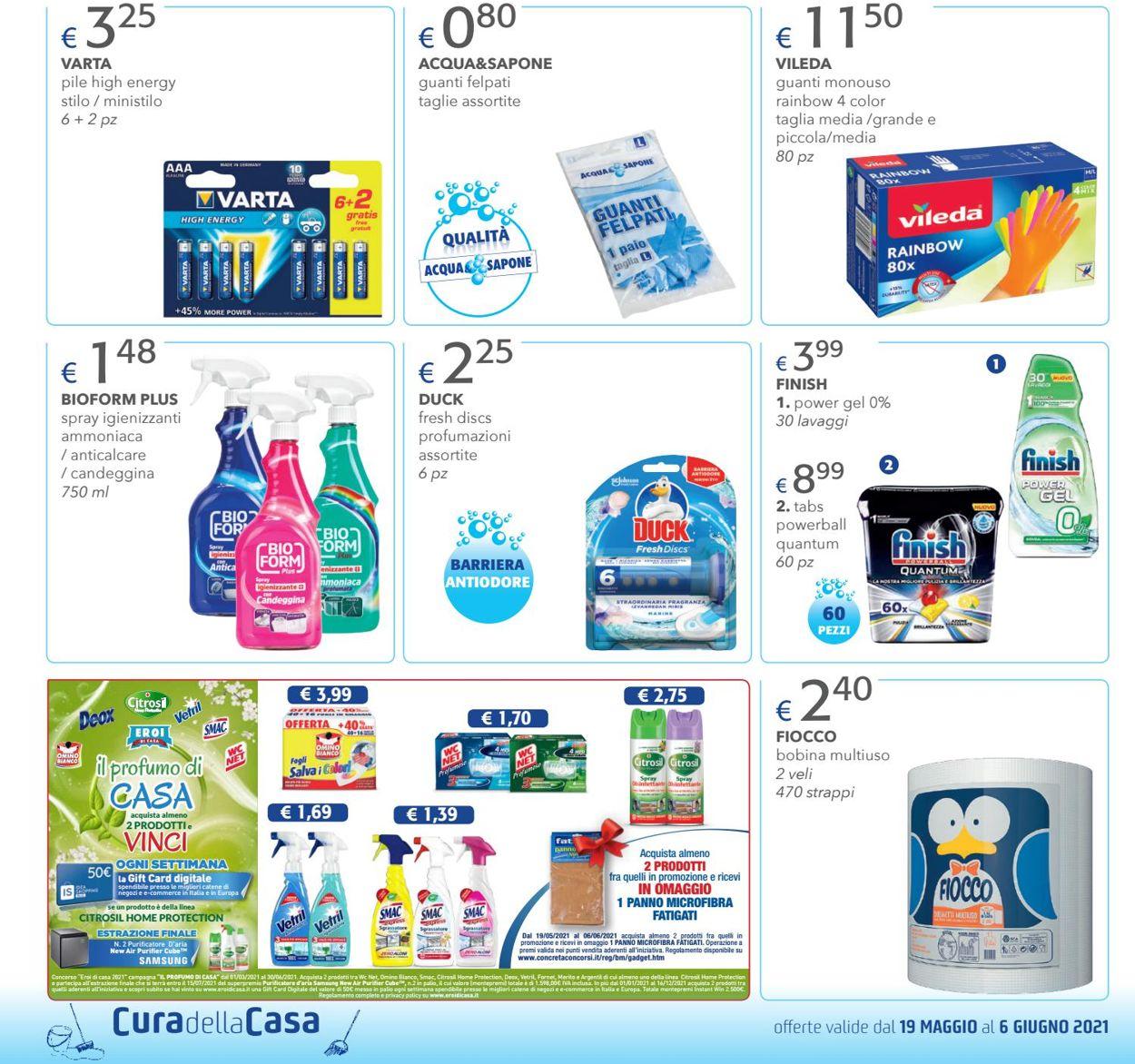 Volantino Acqua & Sapone - Offerte 19/05-06/06/2021 (Pagina 6)