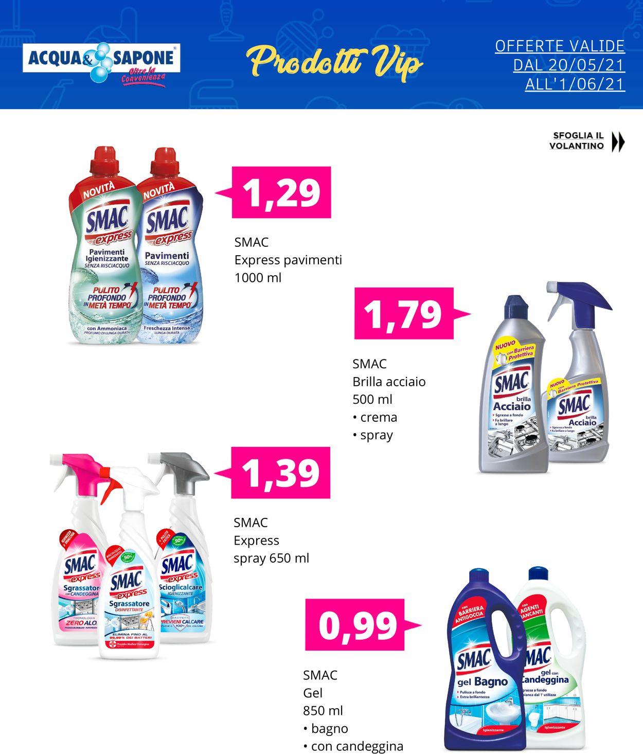 Volantino Acqua & Sapone - Offerte 20/05-01/06/2021 (Pagina 3)