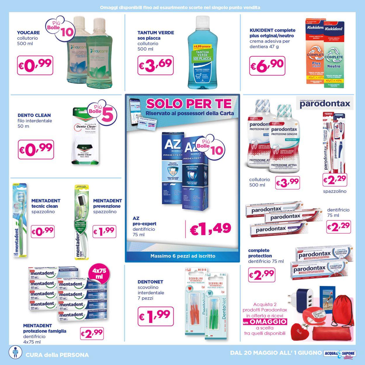 Volantino Acqua & Sapone - Offerte 20/05-01/06/2021 (Pagina 13)