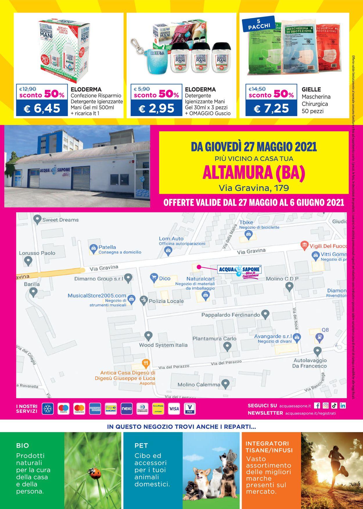 Volantino Acqua & Sapone - Offerte 27/05-06/06/2021 (Pagina 12)