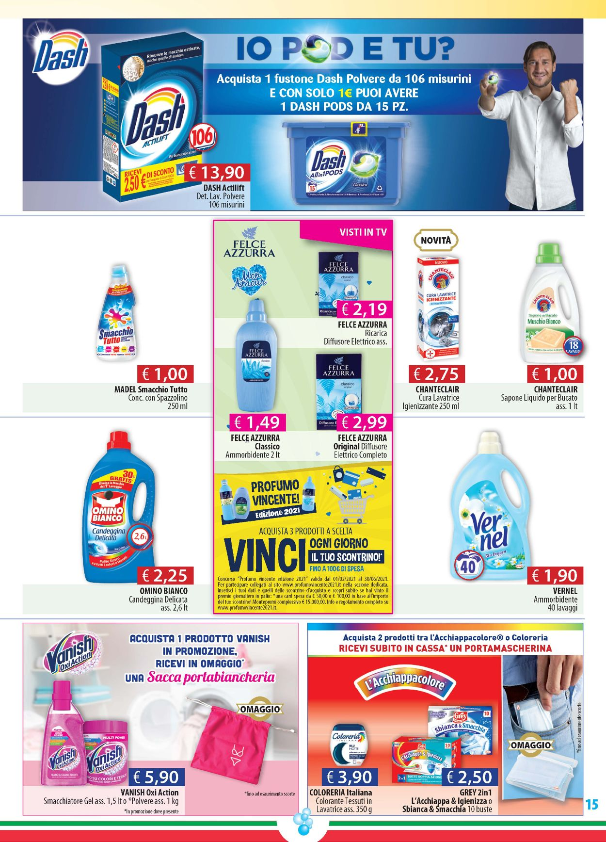 Volantino Acqua & Sapone - Offerte 27/05-15/06/2021 (Pagina 15)