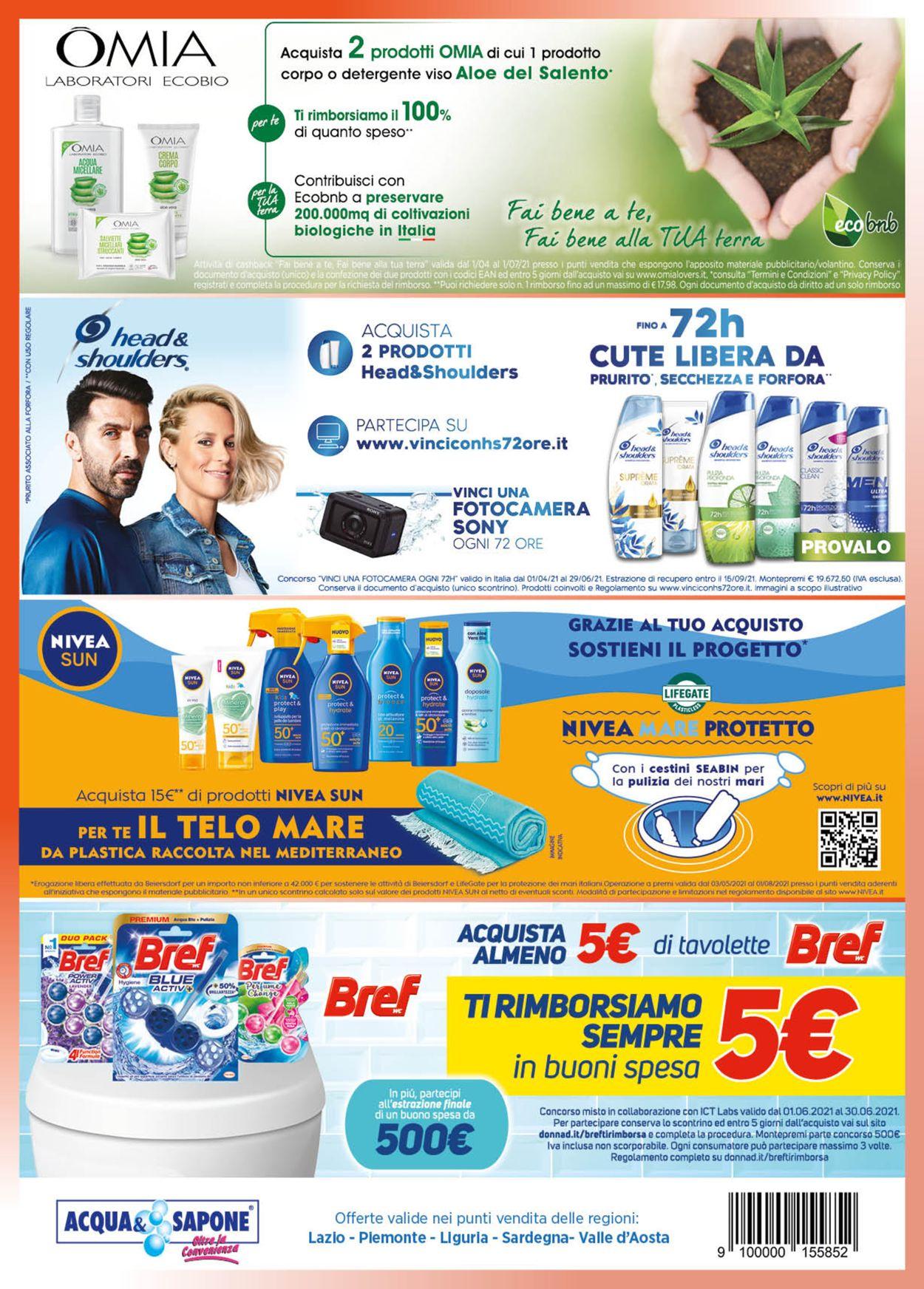 Volantino Acqua & Sapone - Offerte 01/06-30/06/2021 (Pagina 6)