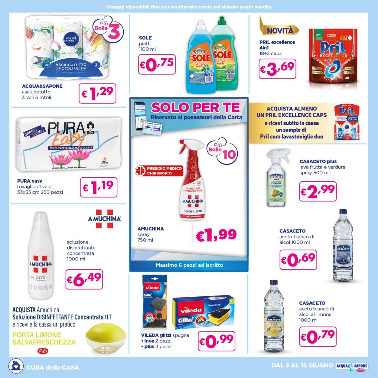 Volantino Acqua & Sapone - Offerte 03/06-15/06/2021 (Pagina 4)
