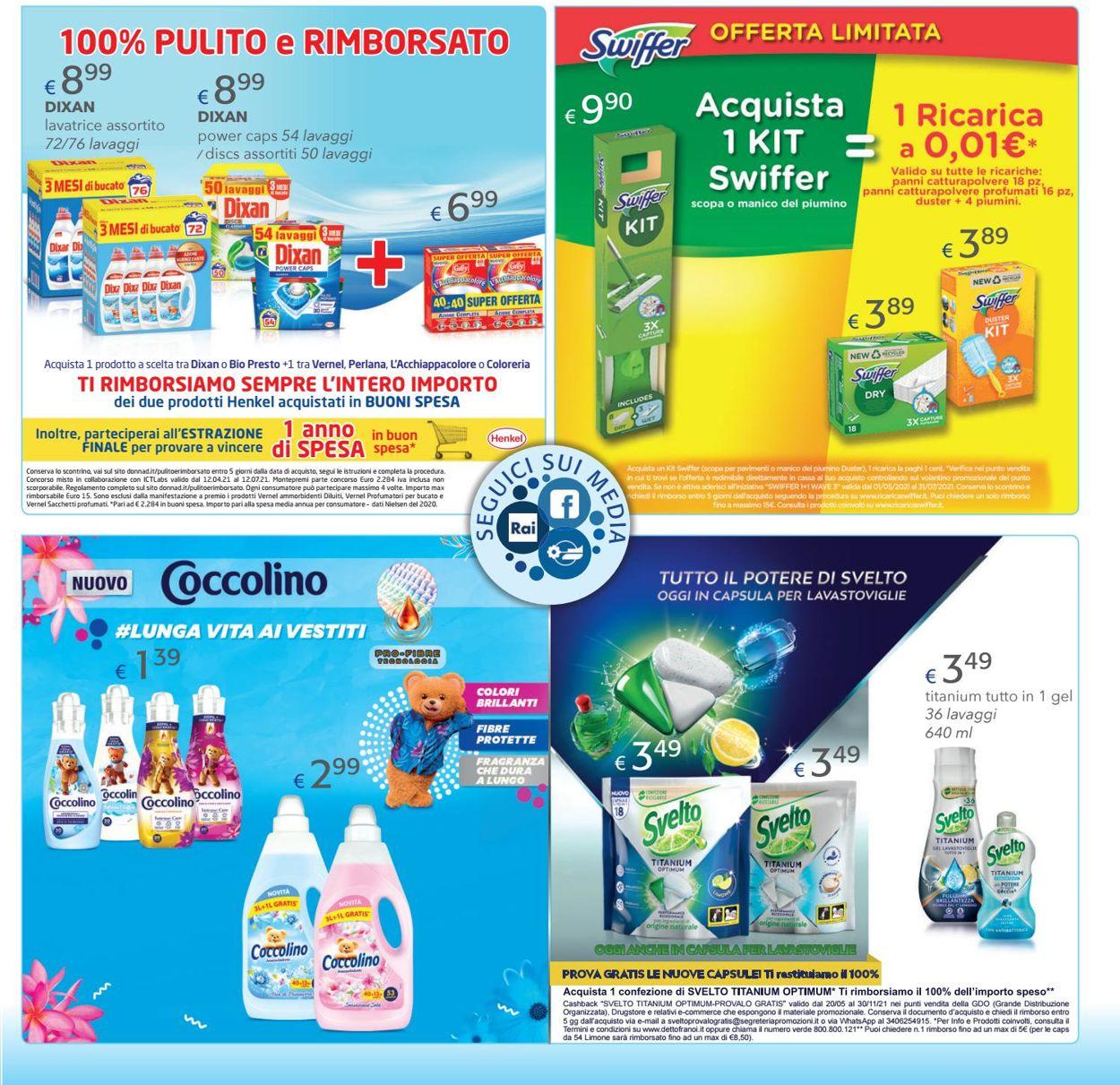Volantino Acqua & Sapone - Offerte 09/06-27/06/2021 (Pagina 3)
