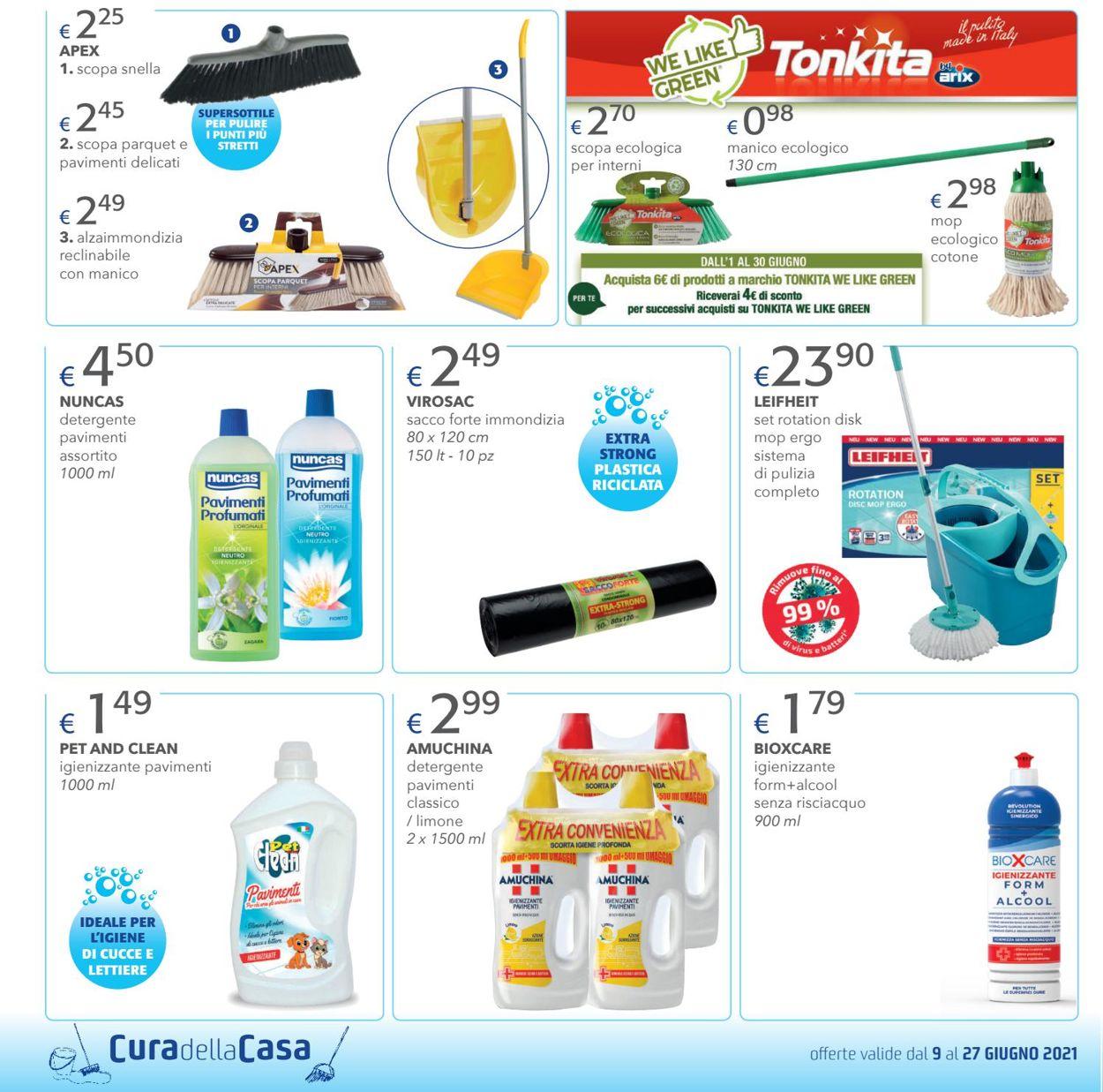 Volantino Acqua & Sapone - Offerte 09/06-27/06/2021 (Pagina 4)