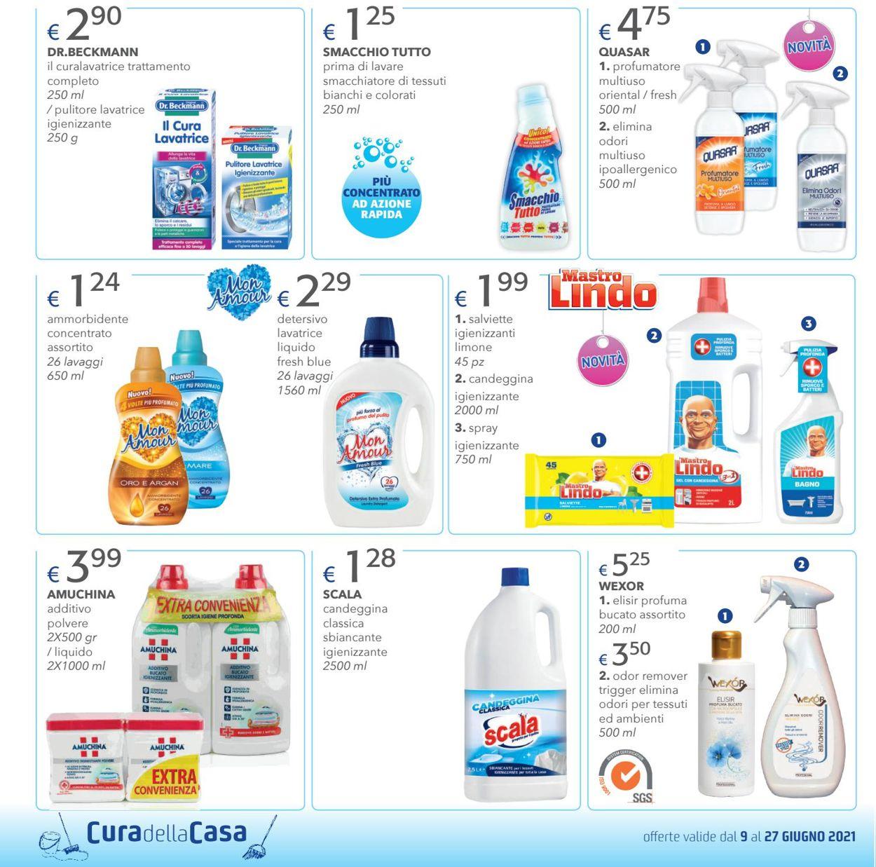 Volantino Acqua & Sapone - Offerte 09/06-27/06/2021 (Pagina 8)