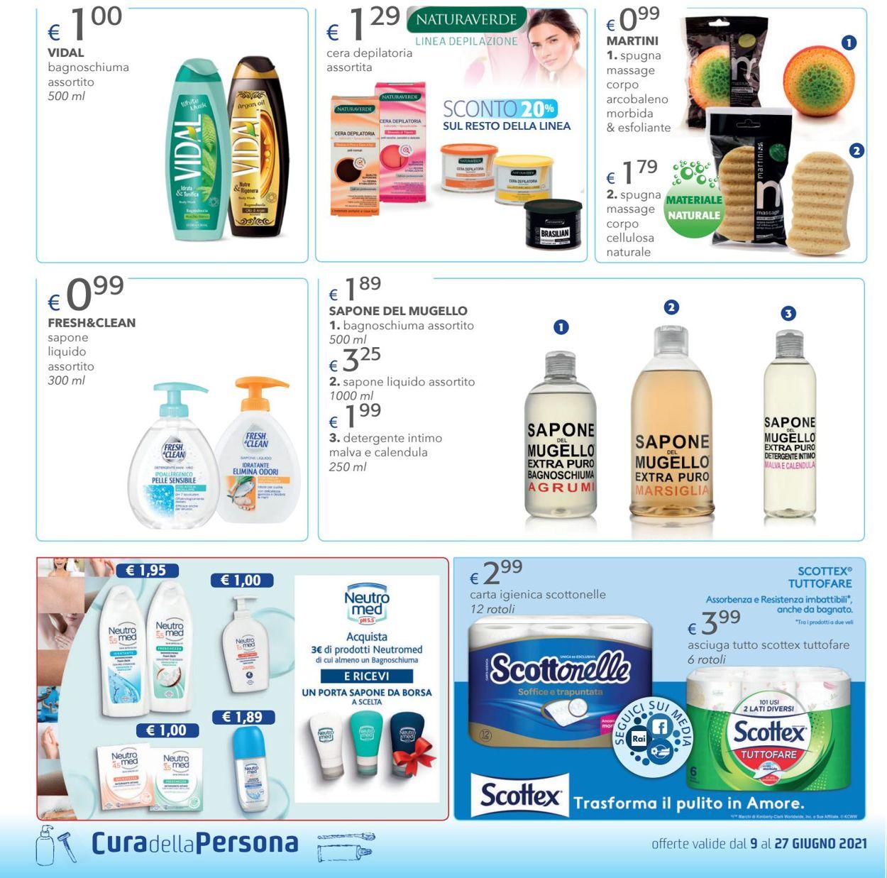 Volantino Acqua & Sapone - Offerte 09/06-27/06/2021 (Pagina 10)