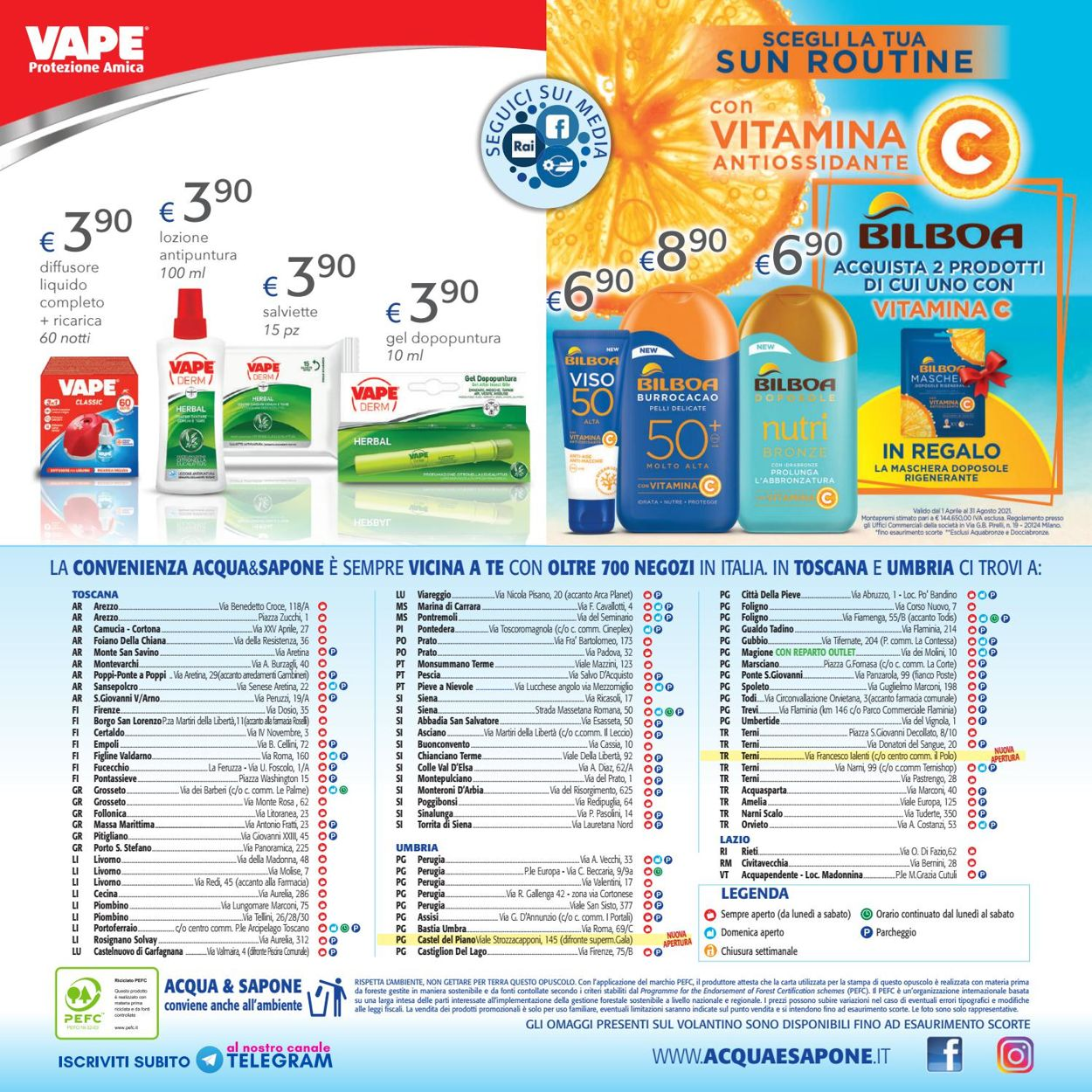 Volantino Acqua & Sapone - Offerte 09/06-27/06/2021 (Pagina 20)