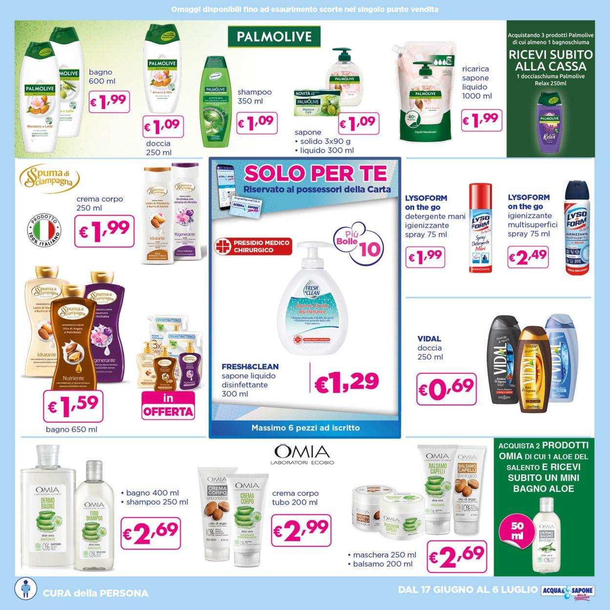 Volantino Acqua & Sapone - Offerte 17/06-06/07/2021 (Pagina 8)