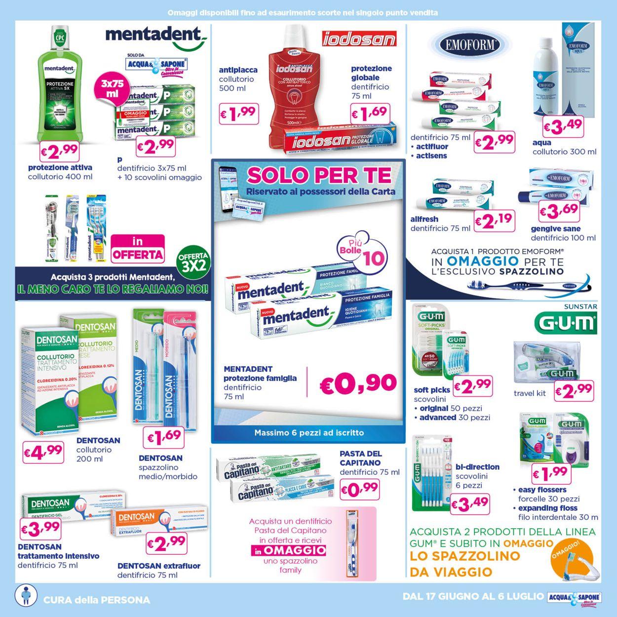 Volantino Acqua & Sapone - Offerte 17/06-06/07/2021 (Pagina 13)