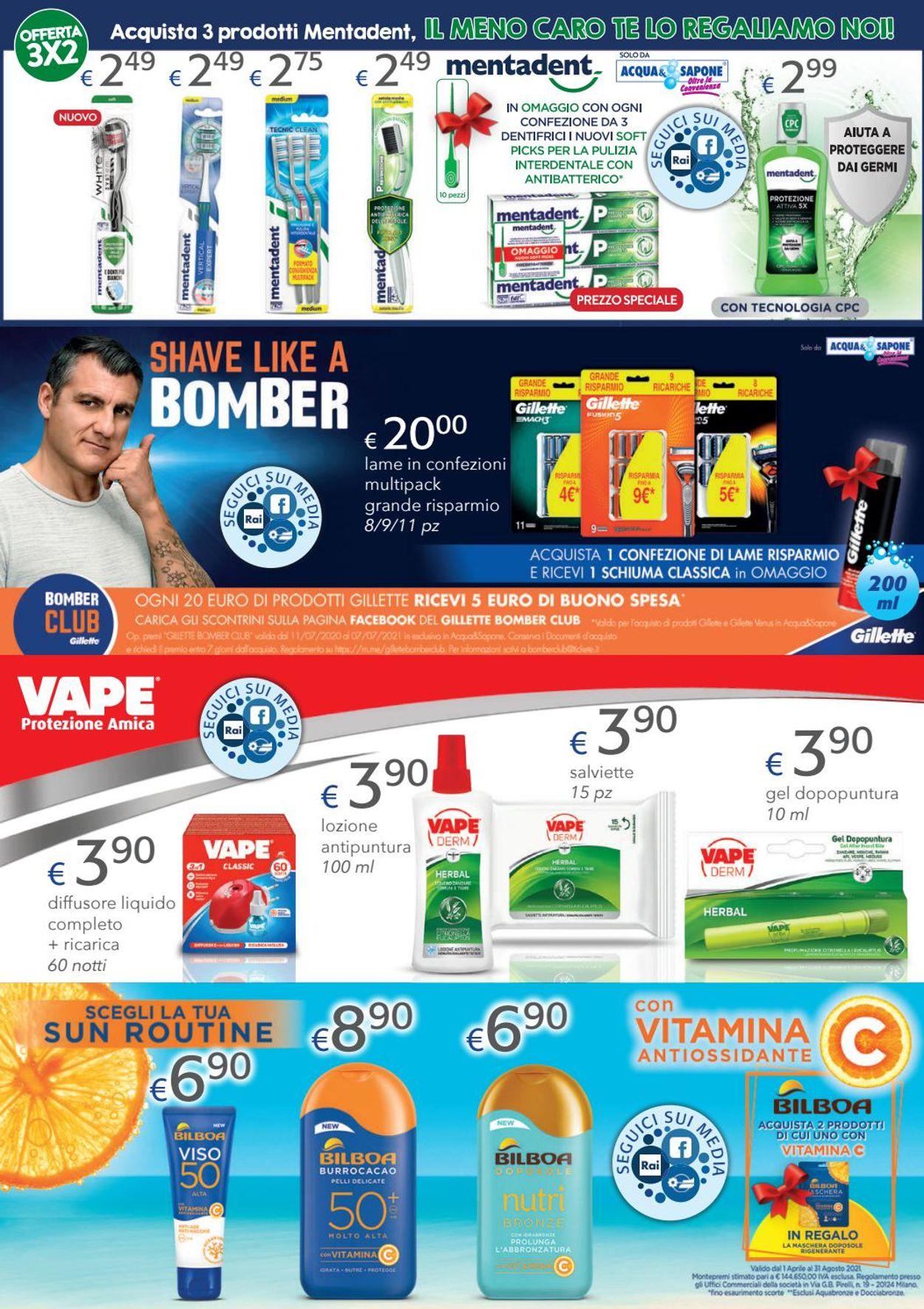 Volantino Acqua & Sapone - Offerte 24/06-04/07/2021 (Pagina 10)