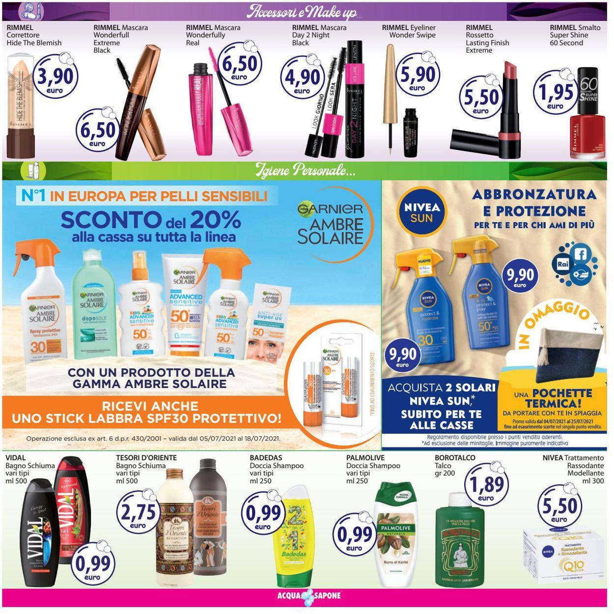 Volantino Acqua & Sapone - Offerte 05/07-18/07/2021 (Pagina 5)