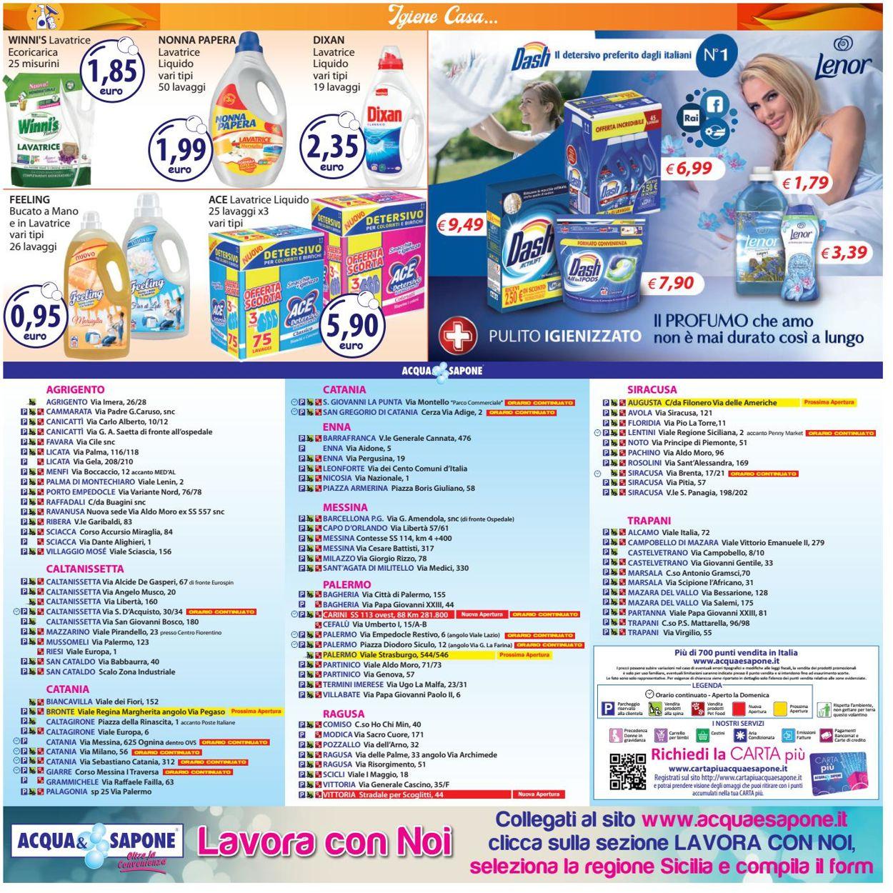 Volantino Acqua & Sapone - Offerte 05/07-18/07/2021 (Pagina 20)