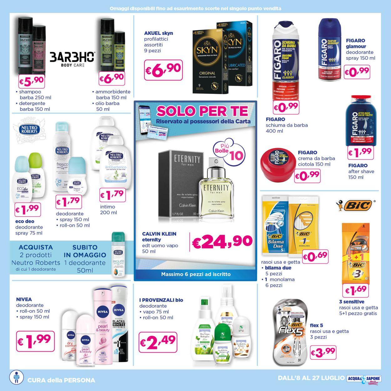 Volantino Acqua & Sapone - Offerte 08/07-27/07/2021 (Pagina 12)