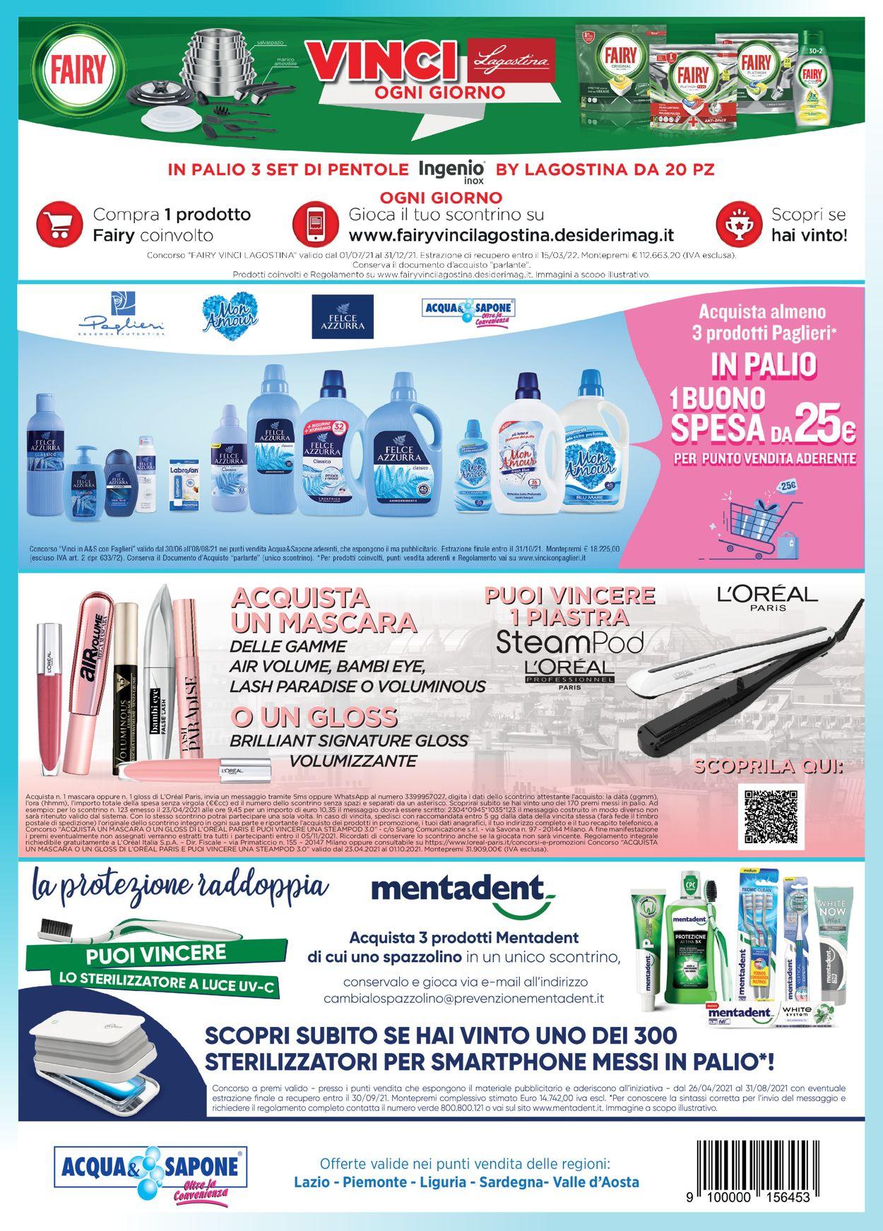 Volantino Acqua & Sapone - Offerte 01/07-31/07/2021 (Pagina 6)