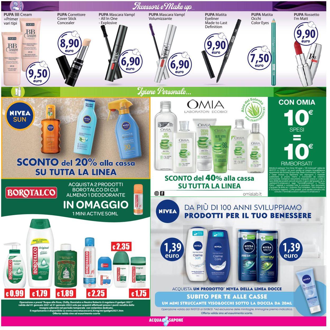 Volantino Acqua & Sapone - Offerte 19/07-01/08/2021 (Pagina 5)
