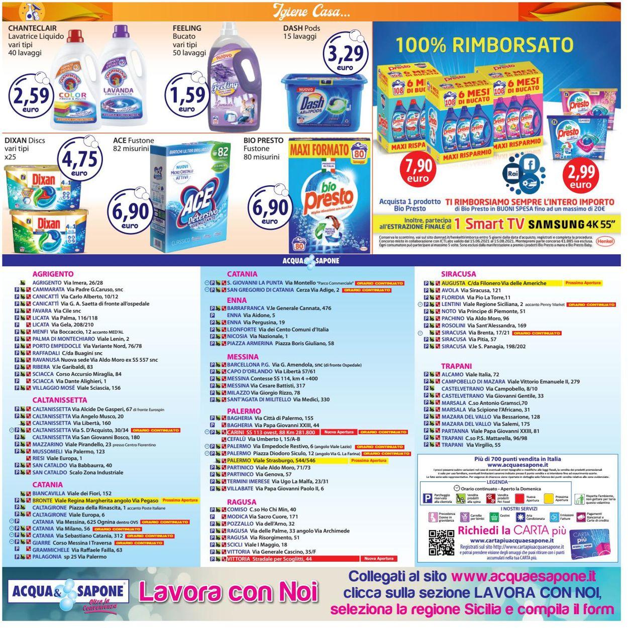 Volantino Acqua & Sapone - Offerte 19/07-01/08/2021 (Pagina 20)