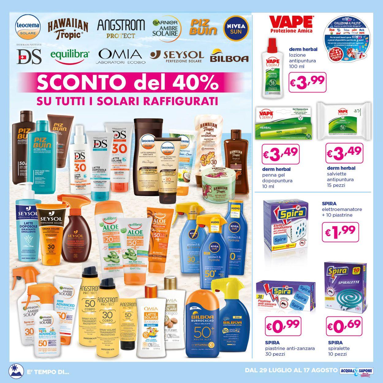 Volantino Acqua & Sapone - Offerte 29/07-17/08/2021 (Pagina 7)
