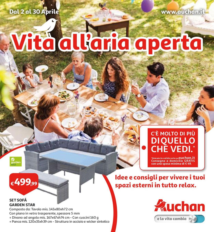 Volantino Auchan - Offerte 02/04-30/04/2019