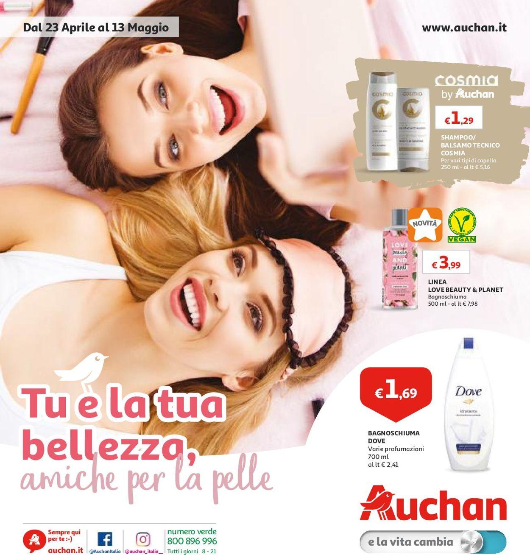 Volantino Auchan - Offerte 23/04-13/05/2019
