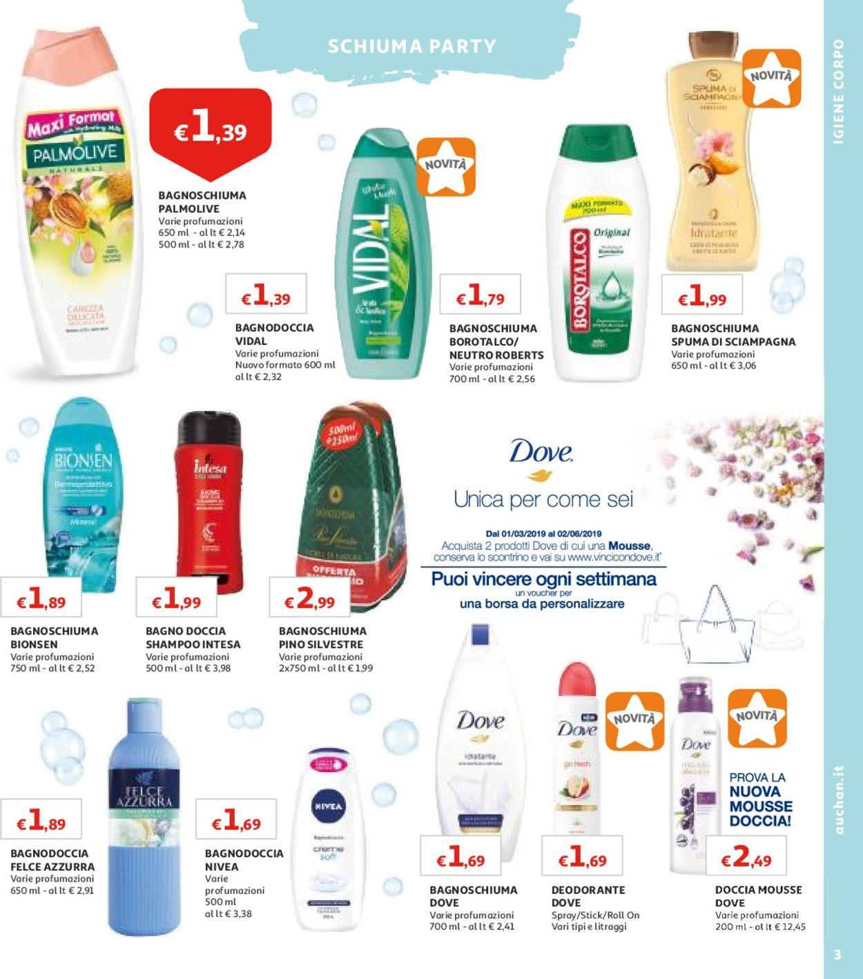 Volantino Auchan - Offerte 23/04-13/05/2019 (Pagina 3)